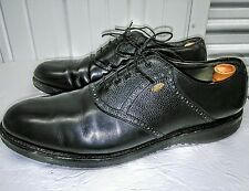 Men's Etonic Ultimate 2000 13D Black Leather Gore Tex Spikeless Golf Shoes.
