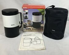 Krups Cafe Voyager 10 oz  Travel Camping Coffee Maker Portable #1470-76