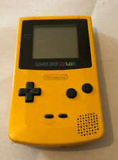 Console Game Boy Color / Jaune/ testée / Bouton Start HS