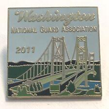Lapel Pin - Washington National Guard Association 2011 WA NGAUS Bridge