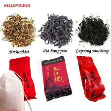12 bags Different kinds of Tea Jinjunmei Lapsang Souchong Dahongpao Black Tea