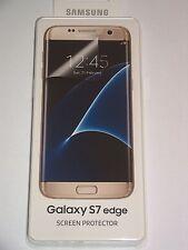 Original Samsung Galaxy S7 Edge G935F 2 Stück Displayschutzfolie ET-FG935