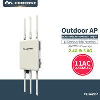 High Power Outdoor POE 2.4/5.8GHz 1.3Gbps Wireless Access Point WiFi AP Bridge L