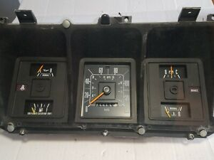 73-79 Ford Truck Instrument Cluster F150 F250 350 Pickup Bronco Speedo 1973-1979