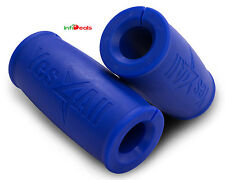 Yes4All Fat Xtreme Hand Grip Thick Bar Muscle Lift Fitness Gym - Blue - ²WA0AC