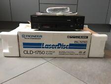Pioneer cld-1750 LASERDISC-PLAYER PAL/NTSC complètement dans neuf dans sa boîte, 2 ans de garantie