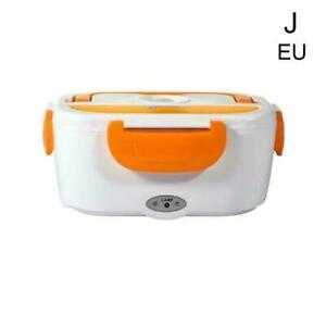 Portable Heated Electric Lunch Box 2 IN 1 - For Car,Truck,School New Work H3Y6