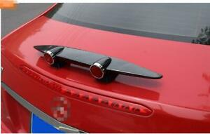Auto Parts Accessories Universal Mini Spoiler Wing Trunk Tail ABS Rear Wing 50CM