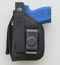 Hip Belt Holster with Extra Magazine Pouch for BERETTA NANO Pistol