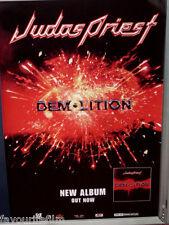 Music Poster: JUDAS PRIEST - Demolition - Album Release Promotional 31/7/2001