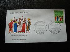 MADAGASCAR - enveloppe 9/12/74 - fokonolona - yt n° 551 - (cy7) (A)