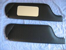 1970 camaro  new sun visors with vanity mirror black perf