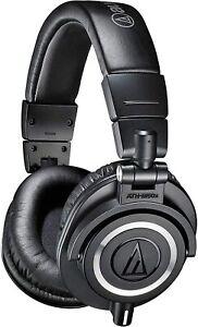 Audio-Technica ATH-M50X Wired Headphones - Black