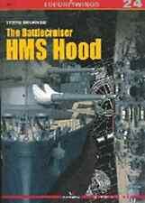 Kagero Publishing - Top Drawings 24 - The Battlecruiser HMS Hood      New   Book