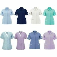 Nurses Healthcare Tunic Hospitality Maid Carers Therapist Dentist Beauty Uniform