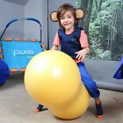 ANTI-BURST Peanut Ball Therapy Saddle Roll Special Needs Gym Exercise 40cm NEW