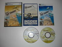 FLIGHT SIMULATOR X DELUXE Pc DVD Rom Microsoft Sim Base Game Edition MSFS FSX FS