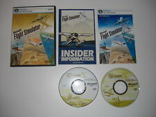FLIGHT SIMULATOR X DELUXE Pc DVD Rom Microsoft Sim Base Game Edition MSFS FSX FS