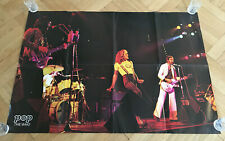 The Who Pete Townshend Roger Daltrey Poster Vintage Rare 1970s