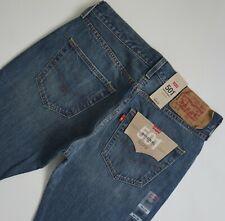 Levi Strauss 501 Original Mens Denim Jeans 34 X 32 Straight Leg Mid Wash Levi's