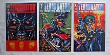The Terminator: Hunters and Killers #1 2 3 Complete Set (Mar 1992, Dark Horse)