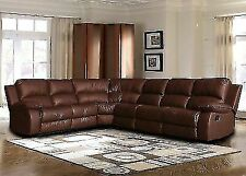 Phenomenal Brown Leather Sectionals For Sale Ebay Ibusinesslaw Wood Chair Design Ideas Ibusinesslaworg