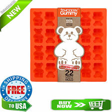 JUMBO size GUMMY BEAR Mold by the Modern Gummy + Recipe PDF, PROFESSIONAL GRADE