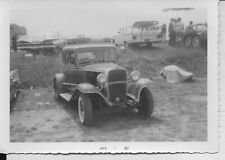 Vintage NHRA Drag Racing-Connecticut Dragway-1932 Chevy Coupe Gasser-Original