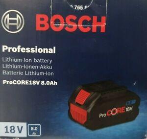 1 X Bosch Professional 18V System Akku ProCORE18V 8.0Ah Akku