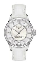 *BRAND NEW* Tissot Women's White Leather Steel Case Watch T099.207.16.116.00
