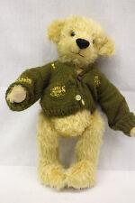 """Hyefolk Bears By Pamela & Sally-Jane Hobbs, Gold Mohair """"Thread Bare Fred"""" Bear"""