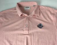 Linksoul Tempus Fugit Golf Shirt Luxury Cotton Broad Bay Golf Club Sz L Polo