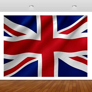 England Union Jack Kingdom Flag 3D Mural Decal Wall Sticker Poster Vinyl S324