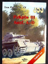 MILITARIA 353.   PZ. KPFW. III AUSF. A-D  BY JANUSZ LEDWOCH