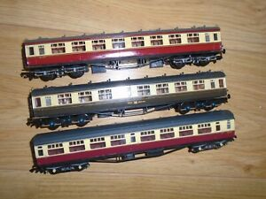 Collection of Bachmann Coaches for Hornby OO Gauge Train Sets