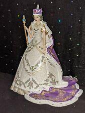 "Hamilton Collection, The Coronation of Queen Elizabeth II, 7"", 2013 Figurine"
