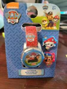 Paw Patrol LCD Watch with Slide on Age 6 and up