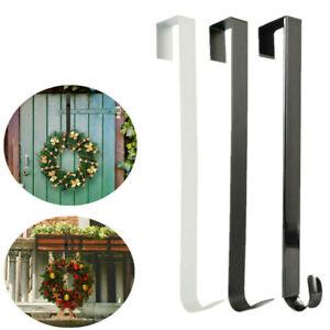 Christmas Wreath Door Hanger Metal Hook Xmas Decoration 28/38cm
