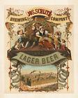 11x14 Print: Schlitz Brewery, Lager Beer, Milwaukee, Wisconsin, 1878