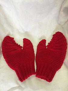 Hand Crochet Futurama Dr. Zoidberg Claw Mitten Glove Made to Order NEW!