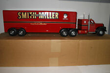 """Smith Miller B Model Mack """"Smitty Toys"""" Freight Trailer Truck with Box"""