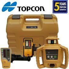 Topcon Model Rl H5b Rotating Laser Level With Bonus T 100 Laser Receiver