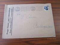 alter Briefumschlag + Briefmarke - aus Nachlass Sturm Riedlingen - von 1944 /S18