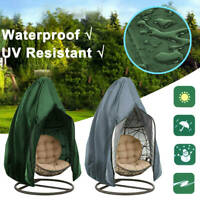 Waterproof Hanging Swing Chair Cover Rattan Egg Seat UV Protector Garden Patio