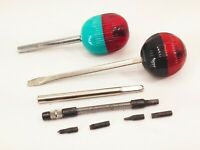 Vtg Easydriver ball ratchet screwdriver set creative tool usa