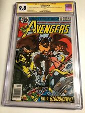 CGC 9.8 SS Avengers #179 signed by Lee, Pollard, Shooter & DeFalco White pages