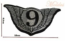 Nine wings large Sew Embroidered Patch Badge Patches Logo Fancy Badges #110