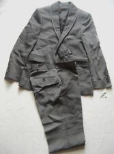 ADORNO Bräutigam Anzug EVEREST mit Doppelkragen Gr. 50  In Grau