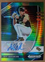 🔥💎 JEFF HAKANSON 2020 Prizm Draft Picks YELLOW PRIZM AUTO Rays SP MINT RARE