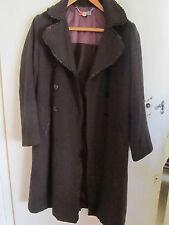 Dark Brown Gharani Strok Coat in Size 10